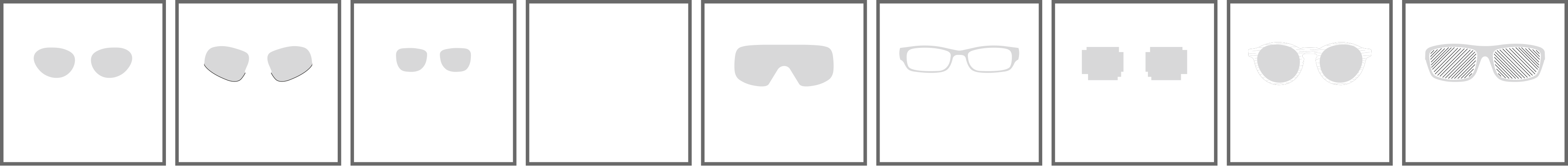Montature gadget occhiali